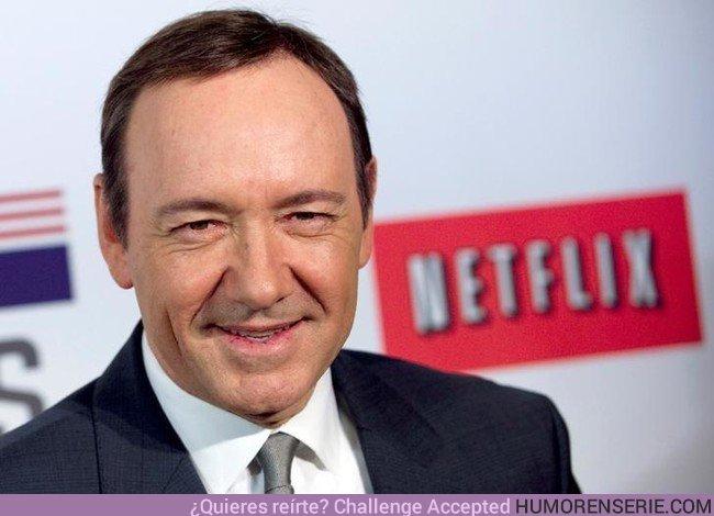 22113 - Esta es la escandalosa cantidad de dinero que a Netflix le ha costado el escándalo de Kevin Spacey