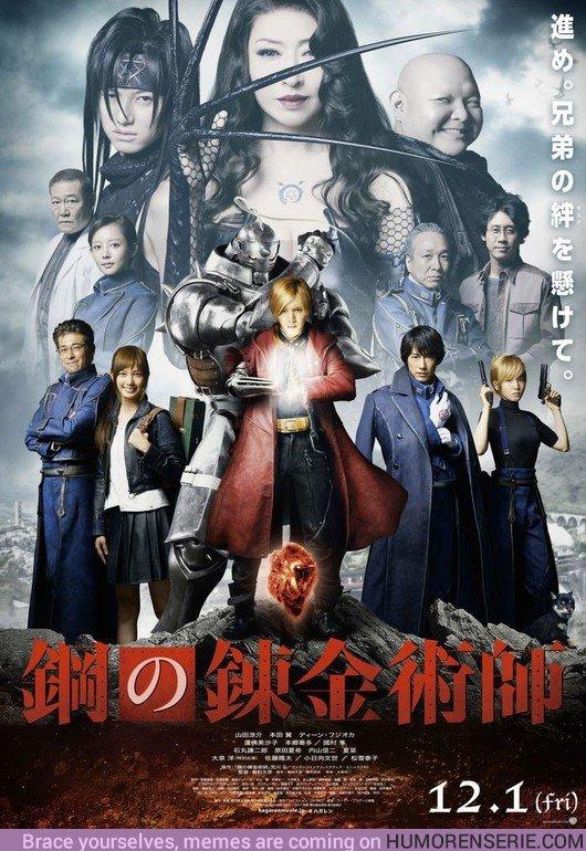 22122 - El live-action de Fullmetal Alchemist ya tiene fecha de estreno en Netflix