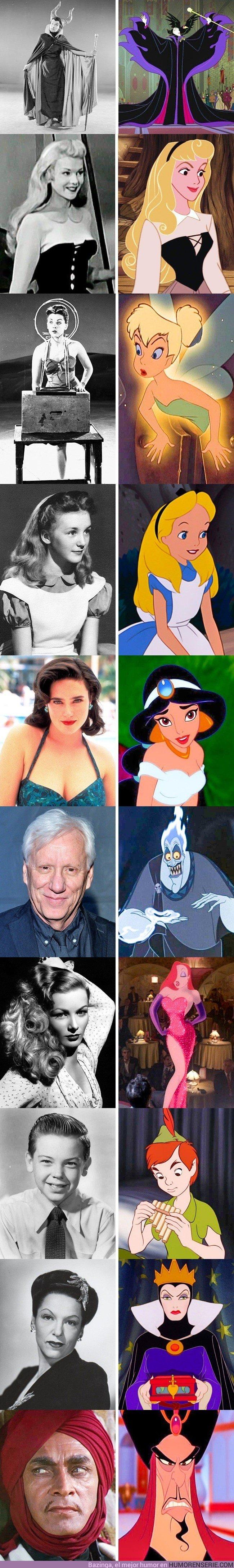 22248 - GALERÍA: 10 personajes de Disney que se inspiraron en estas personas reales