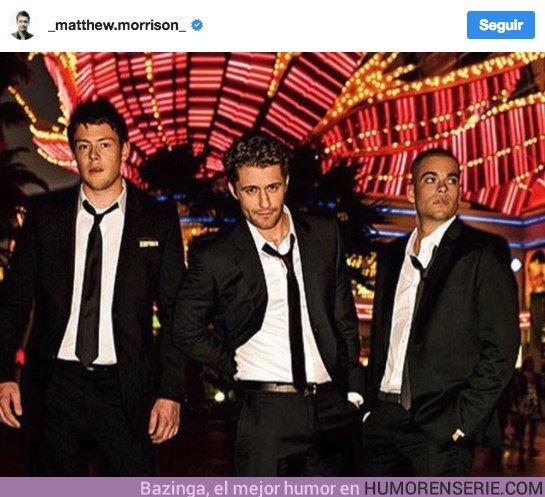 22307 - Primeras reacciones del reparto de Glee después del suicidio de Mark Salling