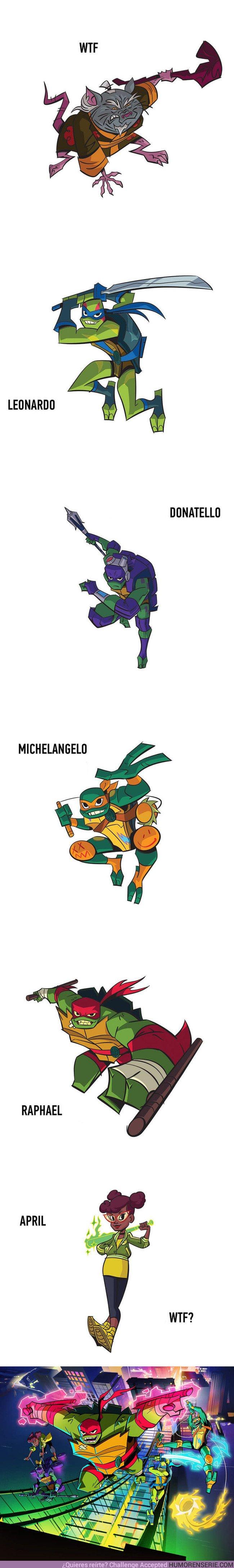 22375 - Todo el mundo está flipando con la nueva serie de Las Tortugas Ninja