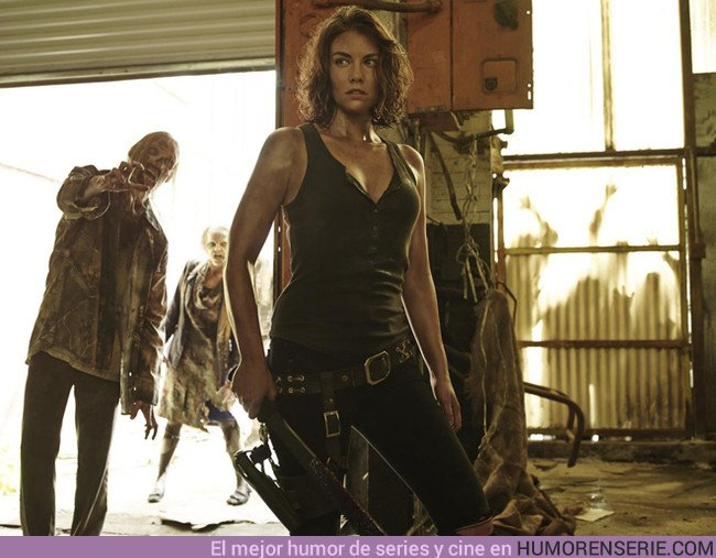 22388 - Esta actriz de The Walking Dead podría abandonar la serie por la diferencia salarial