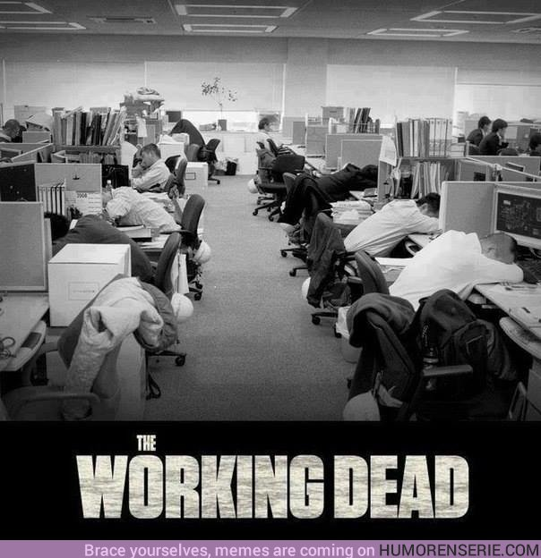 22404 - Un lunes cualquiera en la oficina....