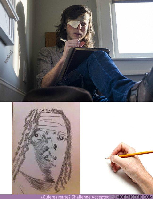22774 - Carl tiene un increíble don para los dibujos