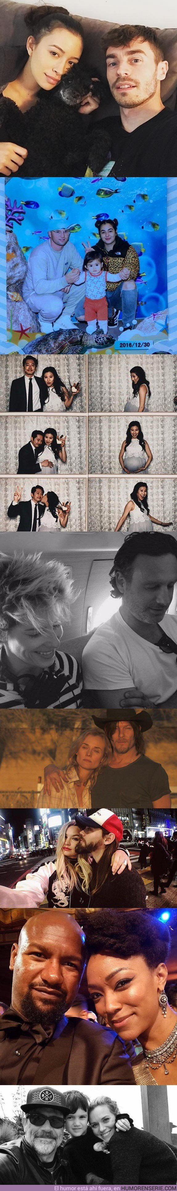 22916 - GALERÍA: Estas son las parejas sentimentales de los protagonistas de The Walking Dead