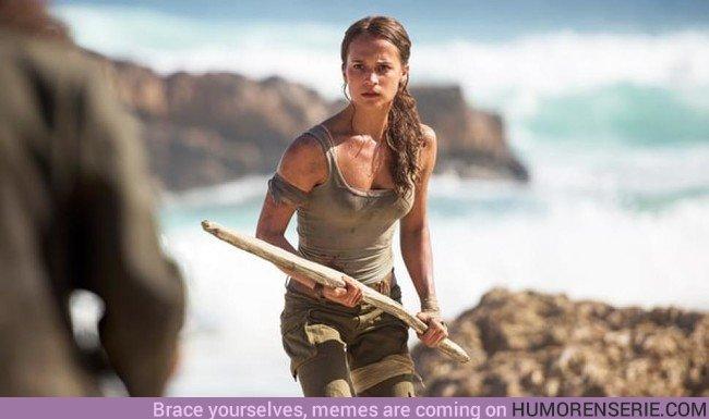 22919 - Alicia Vikander habla de su papel como Lara Croft en la película de Tomb Raider