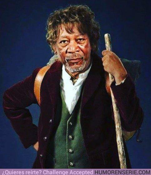 22926 - Todo el mundo sabe que Morgan Freeman interpretó a Bilbo