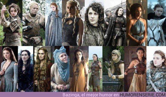 23261 - Los mejores personajes femeninos de Juego de Tronos