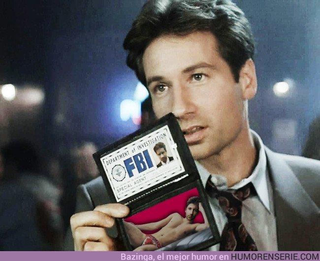 23533 - Los Simpsons predicen al agente Mulder del FBI
