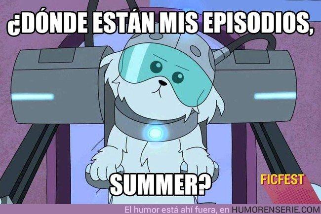 23643 - Cuando te dicen que NO hay 4ª temporada de Rick y Morty