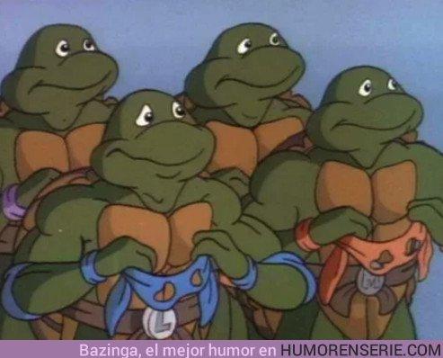 23988 - Así son las Tortugas Ninja sin sus icónicas máscaras