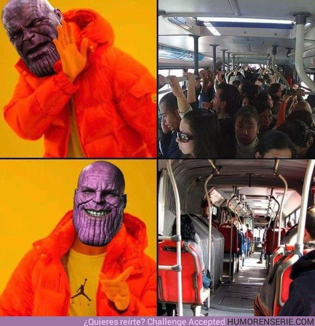25155 - Thanos solucionando los problemas en el autobús