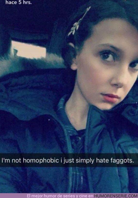 26021 - Millie Bobby Brown cierra su cuenta de twitter por culpa de memes homófobos