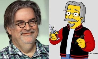 27036 - Matt Groening desvela quiénes son sus favoritos de Los Simpson y Futurama