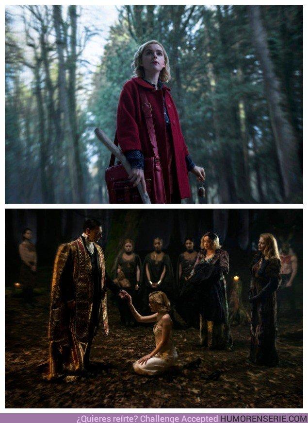 27632 - Estas primeras imágenes de 'Las escalofriantes aventuras de Sabrina' dejan claro que no se parece en nada a la anterior
