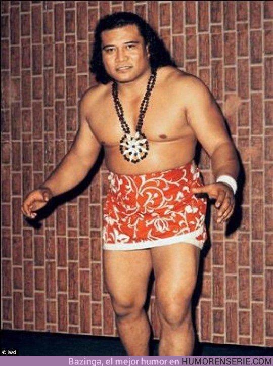 29462 - Maui está físicamente inspirado en el abuelo real de Dwayne Johnson