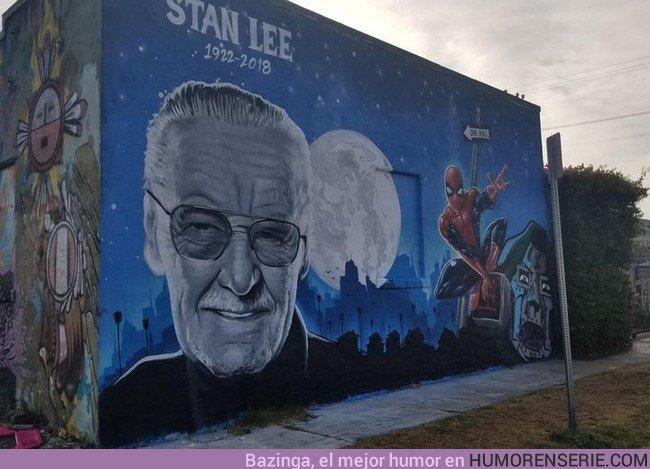 31766 - El espectacular graffiti que han hecho de Stan Lee en Los Ángeles