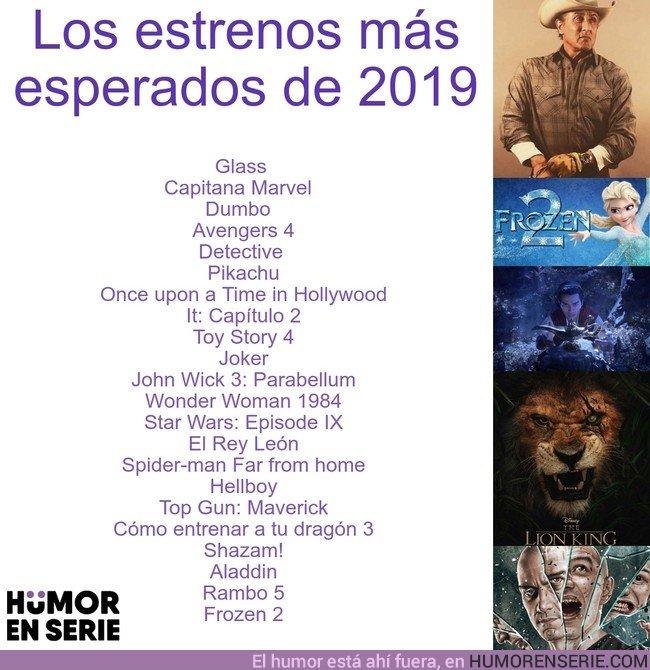 32116 - Los 20 estrenos más esperados de 2019