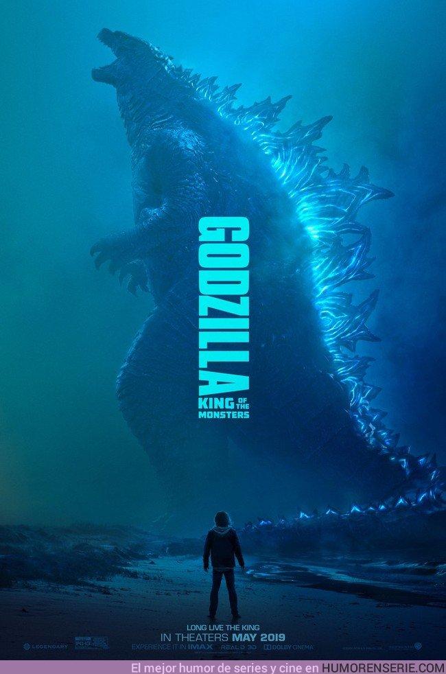 32306 - Primer póster oficial de la nueva película de Godzilla