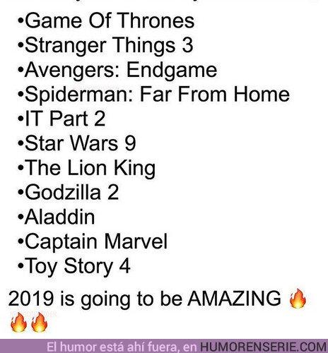 33437 - 2019 será un año estupendo