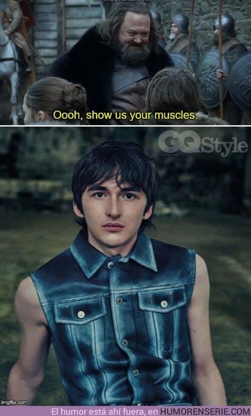 34282 - Bran tenía todos estos músculos escondidos hasta ahora