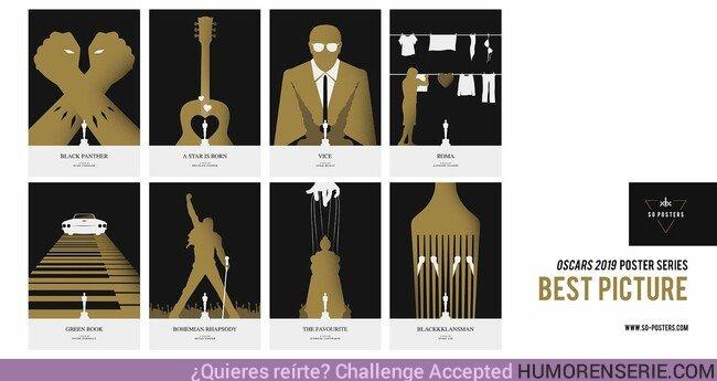 34656 - Estos pósters creados para las pelis de Los Oscar de este año son una pasada. Por SG_Posters