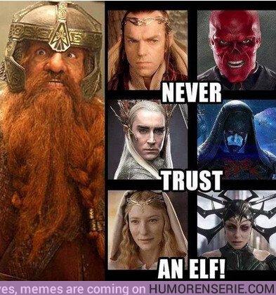 34931 - Nunca confies en un elfo