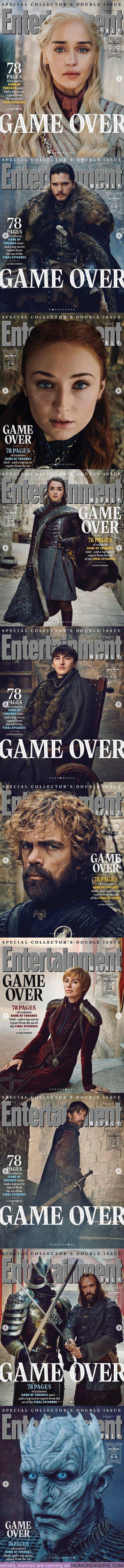35583 - GALERÍA: Acaban de salir las esperadas portadas de Juego de Tronos en Entertainment Weekly