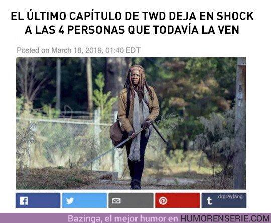 36278 - ¿Se han pasado con lo de Michonne?