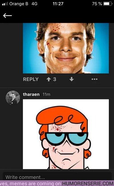 36549 - El único Dexter en mi memoria