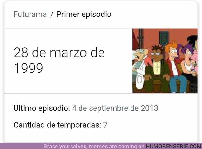 36562 - 20 años del estreno de Futurama