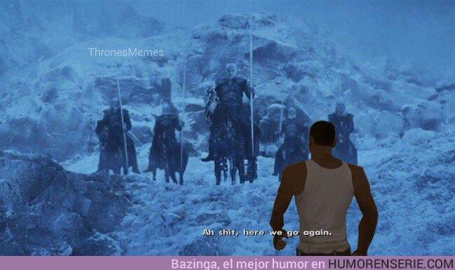 37468 - Jon Snow a punto de ir contra los caminantes