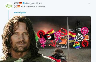 37870 - La rajada de Viggo Mortensen hacia VOX por hacer campaña con una imagen de Aragorn