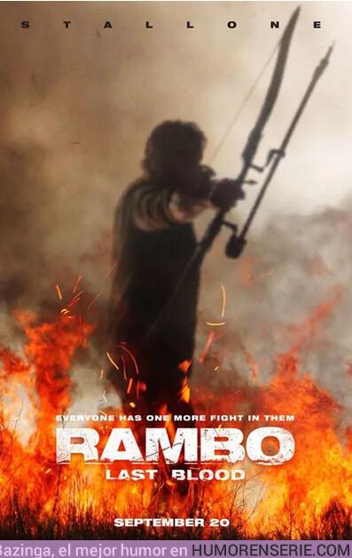 38692 - Primer póster de la nueva película de Rambo