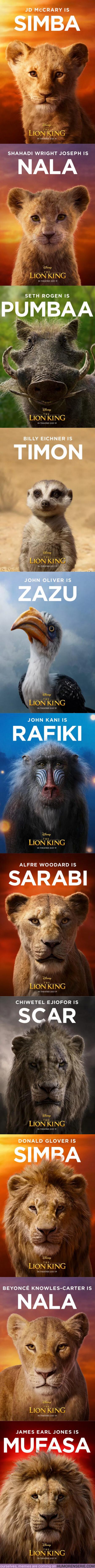 38737 - GALERÍA: Estos son los nuevos pósters oficiales de la película de El Rey León