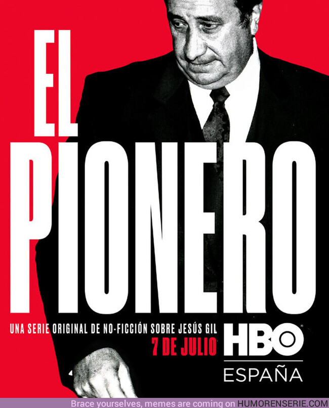 38809 - Póster oficial del documental de Jesús Gil en HBO