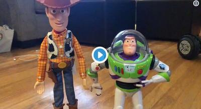 39053 - Vas a querer estos muñecos de Toy Story 4 cuando veas lo que hacen si te acercas a ellos