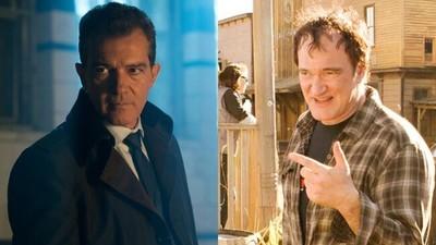 41458 - Antonio Banderas defiende de las críticas a Quentin Tarantino con estas palabras