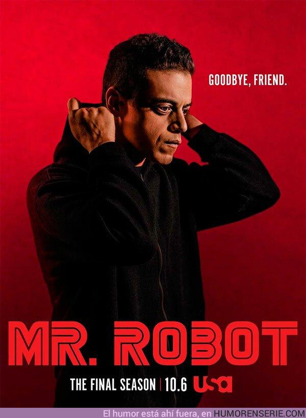 41496 - Póster de la última temporada de Mr.Robot