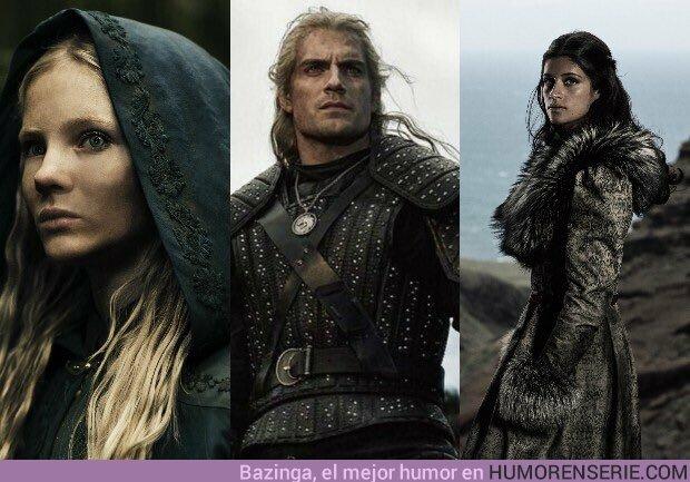 41642 - Ciri, Geralt y Yennefer.