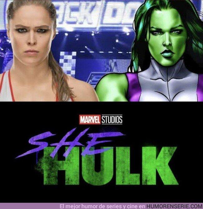 41954 - ¿Te gustaría que Ronda Rousey fuese SheHulk?