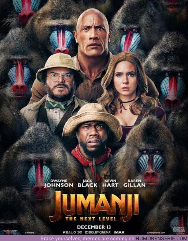 42331 - Nuevo poster de Jumanji, next level