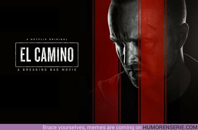 42980 - 'El Camino, una película de Breaking Bad' Ya está disponible en Netflix.