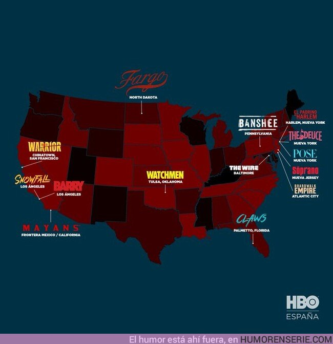 43291 - Tus series favoritas de crimen están en este mapa. Por HBO