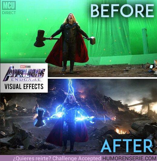 43553 - Antes y después de los efectos visuales