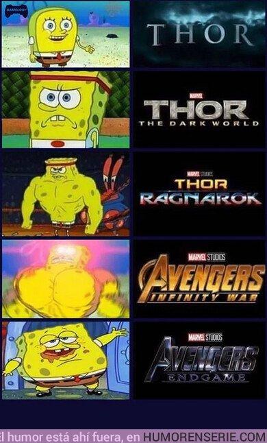 43598 - Bob Esponja y las distintas fases de Thor