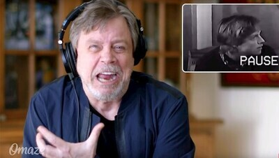 43780 - VÍDEO: Mark Hamill reacciona a su desastrosa audición para Star Wars