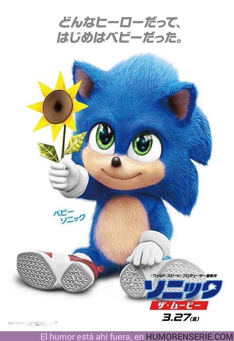 45297 - No se puede ser más adorable que Baby Sonic. Simplemente NO SE PUEDE