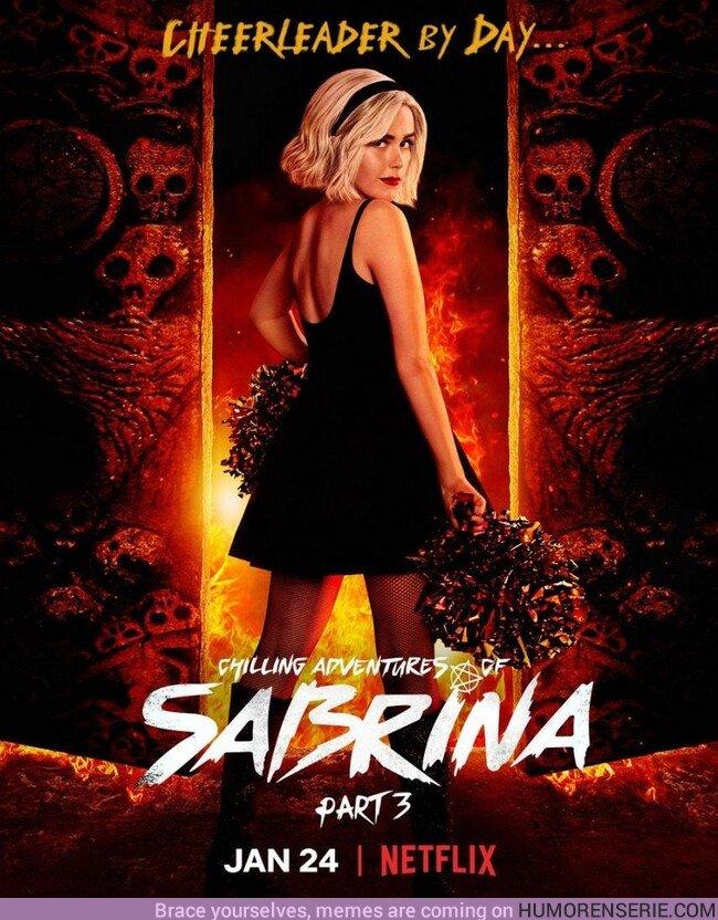 45815 - Nuevo póster y fecha de estreno de la Temporada 3 de Sabrina