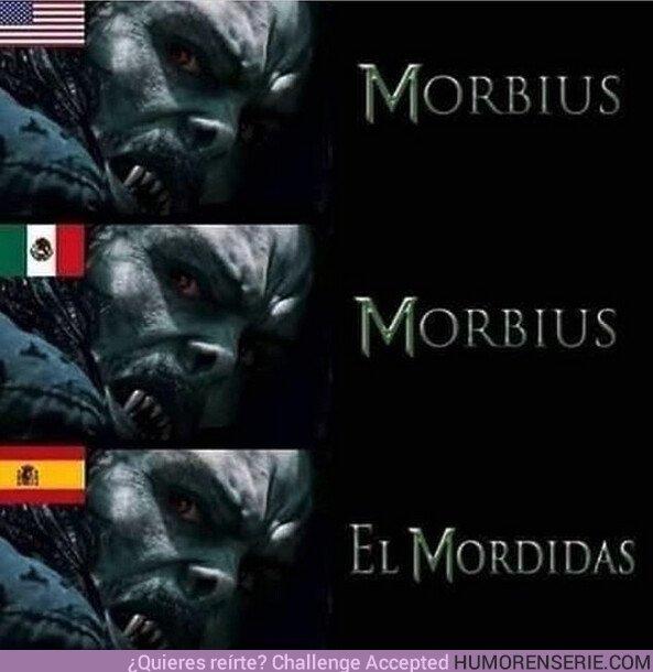 46163 - Ya tenemos la traducción en español de Morbius